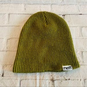 Neff Olive Green Beanie